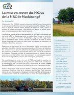 Feuillet de mise en oeuvre du PDZAA