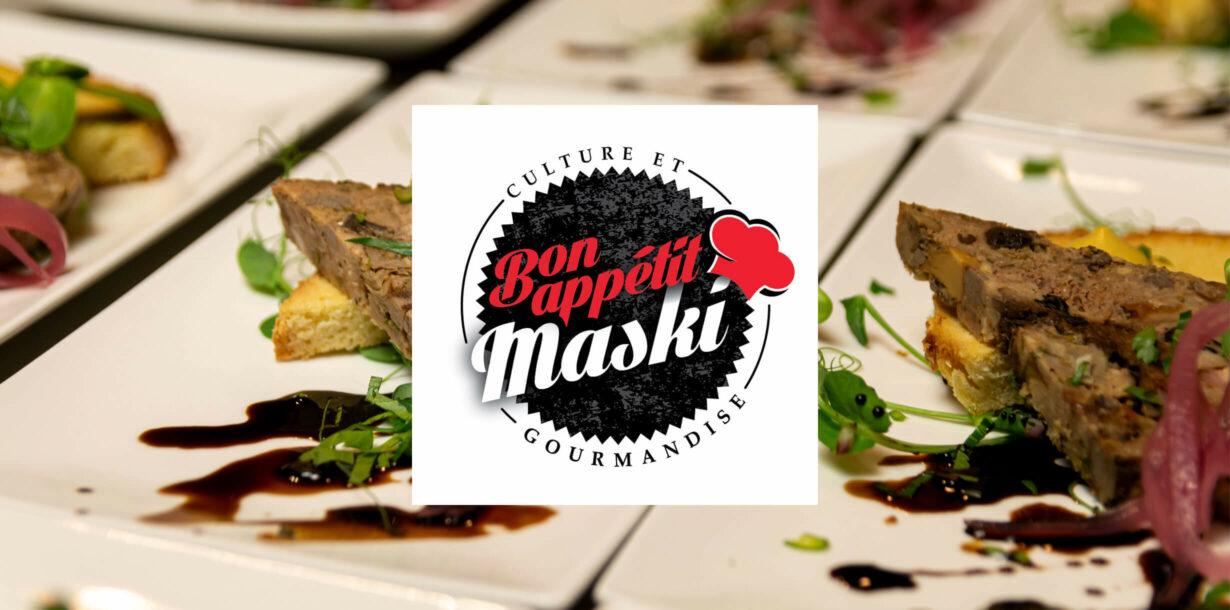 Bon appétit Maski de retour en salle à manger