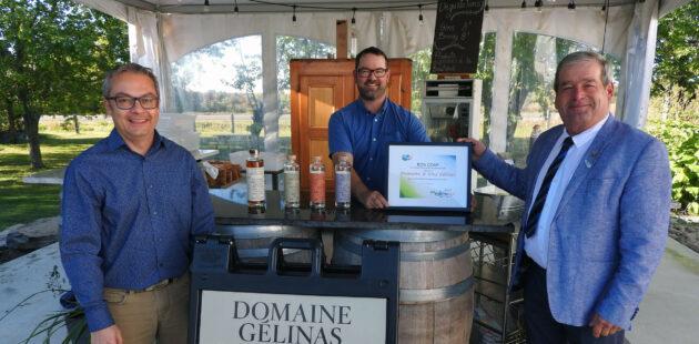 Bon coup de septembre décerné au Domaine & Vins Gélinas