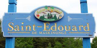 Saint-Édouard-de-Maskinongé : Enseigne